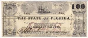 1865 $100 AU 001